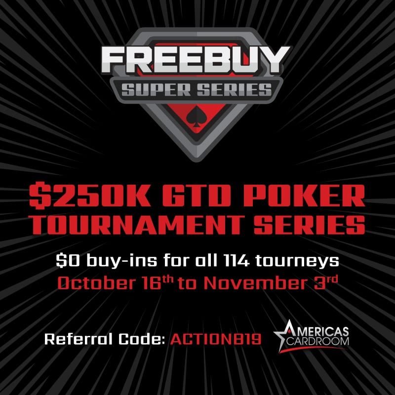 Freebuy Super Series! $250k GTD Free Poker!