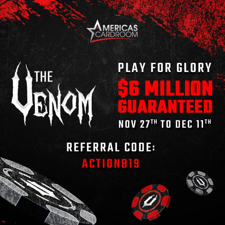 $6 Million Venom on Americas Cardroom: COMING SOON