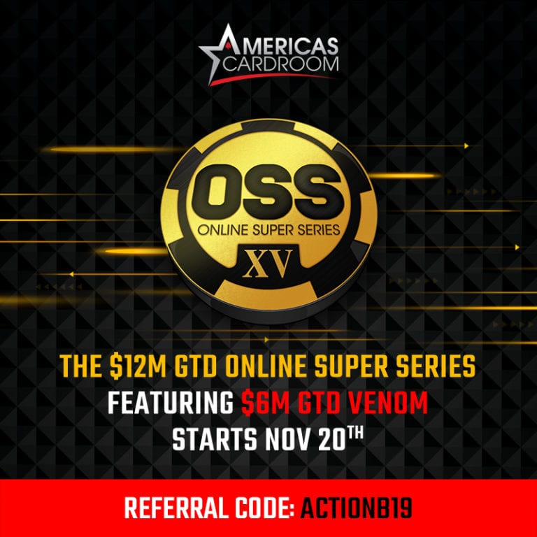 ACR's $12 Million Online Super Series and $6 Million Venom